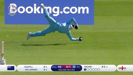 CWC19: ENG v NZ - New Zealand lose their second as Buttler takes a stunner