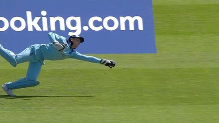 CWC19: ENG v NZ - Different angles of Buttler's wonder catch!