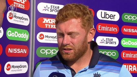 CWC19: ENG v NZ - Player of the Match presentation with Jonny Bairstow