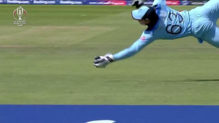 Nissan POTD: Buttler's incredible catch to remove Guptill