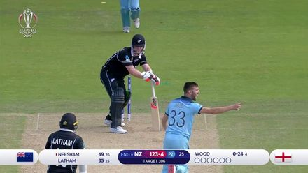 CWC19: ENG v NZ - Mark Wood's bowling highlights