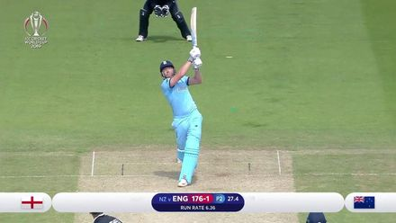 Nissan POTD: Bairstow smashes Southee straight back over his head for 6