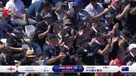 CWC19: ENG v NZ - Stokes holes out as England stutter