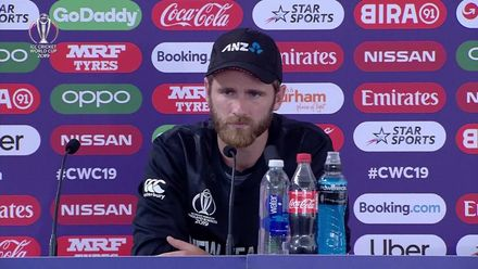 CWC19: ENG v NZ - Williamson post-match media conference