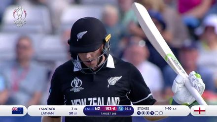 CWC19: ENG v NZ - Highlights from Tom Latham's 57