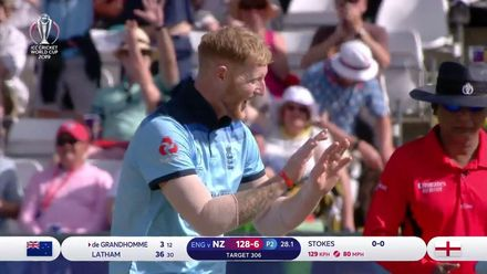 CWC19: ENG v NZ - Stokes strikes with his first ball