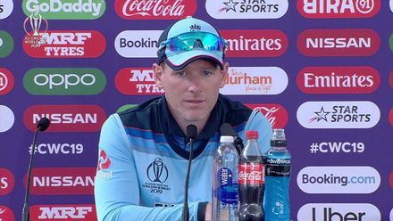 CWC19: ENG v NZ - Morgan post-match media conference