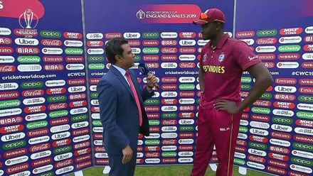 CWC19: AFG v WI – Post-match presentation