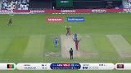 CWC19: AFG v WI – Gayle gets the big wicket of Ikram