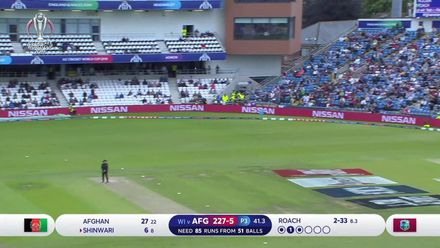 CWC19: AFG v WI – Afghanistan wickets