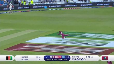 Nissan POTD – Allen takes a stunning diving catch
