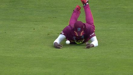 CWC19: AFG v WI – Cottrell drops an easy catch at long-on