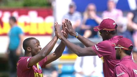 CWC19: AFG v WI – Roach provides West Indies their first breakthrough