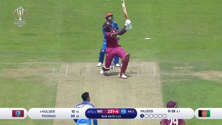 CWC19: AFG v WI – West Indies innings highlights
