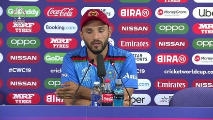 CWC19: AFG v WI – Gulbadin Naib post-match press conference