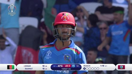 CWC19: AFG v WI – Full match highlights
