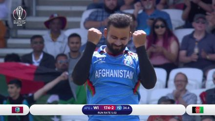 CWC19: AFG v WI – Uber Eats Best Deliveries