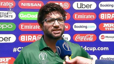 CWC19: PAK v BAN - Interview with Imam-ul-Haq after his 100