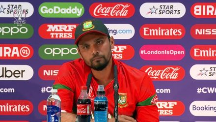 CWC19: PAK v BAN - Mashrafe Mortaza post-match press conference