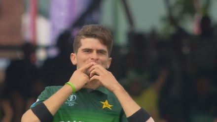 CWC19: PAK v BAN - Shaheen Afridi gets rid of Liton Das with an excellent slower ball