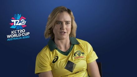Ellyse Perry on playing in cricket and football World Cups