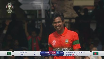 CWC19: PAK v BAN - Highlights of Mustafizur Rahman's 5/75