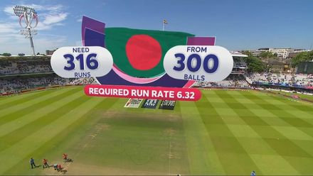 CWC19: PAK v BAN - Bangladesh innings highlights