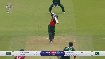 CWC19: PAK v BAN - Highlights of Shakib Al Hasan's 64