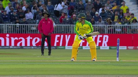 CWC19: AUS v SA - Morris takes the big wicket of Carey