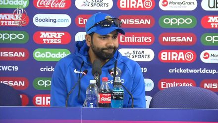 CWC19: SL v IND - Rohit Sharma press conference