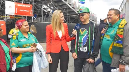 CWC19: AUS v SA - South African fans say goodbye to Duminy and Tahir