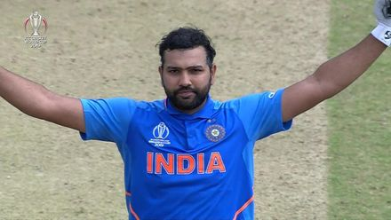CWC19: SL v IND - Rohit reaches 100