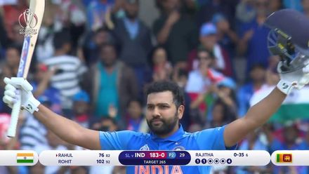 CWC19: SL v IND - Highlights of Rohit's fifth CWC19 century