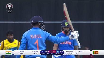 CWC19: SL v IND - Match highlights