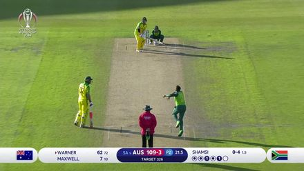 CWC19: AUS v SA - Highlights of David Warner's 122