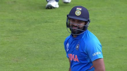 CWC19: SL v IND - Rohit is dismissed for 103