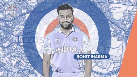 CWC19: SL v IND - Rohit 50 montage