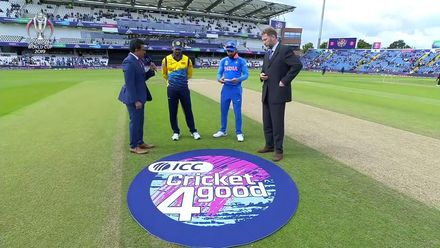 CWC19: SL v IND - The toss