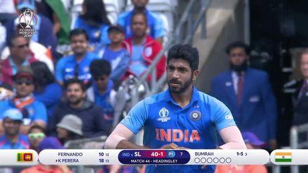 CWC19: SL v IND - Jasprit Bumrah bowling highlights