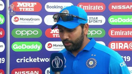 CWC19: SL v IND - Interview with Rohit Sharma, today's Player of the Match