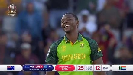 CWC19: AUS v SA - Match highlights