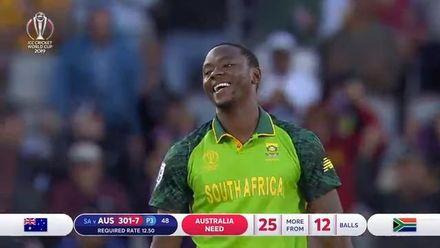 CWC19: AUS v SA - Match highlights