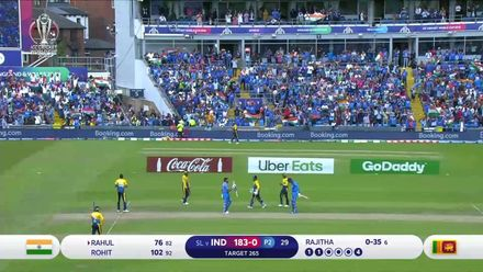 CWC19: SL v IND - Highlights of India's runchase