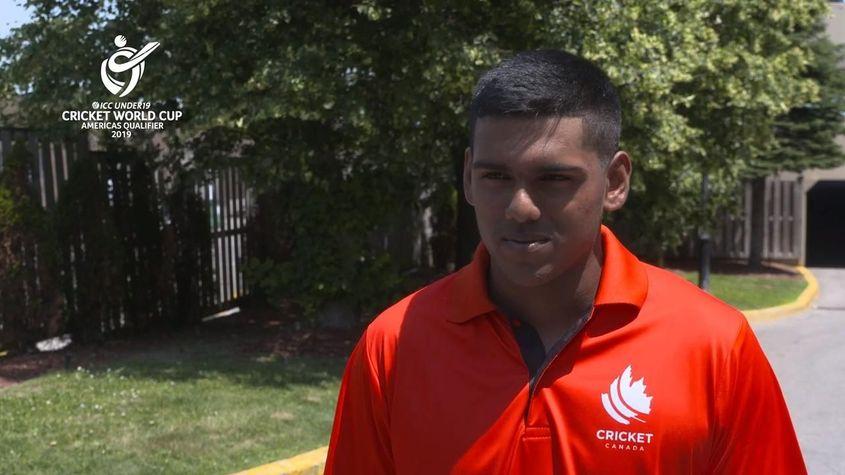 ICC U19 CWC Americas Q – Canada captain Ashtan Deosammy interview