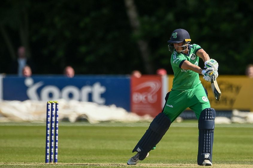 James McCollum top-scored for Ireland with a 69-ball 54