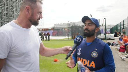 CWC19: IND v NZ - At the Nets