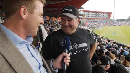 CWC19 SF: IND v NZ – Niall O'Brien chats with former New Zealand cricketer Rod Latham