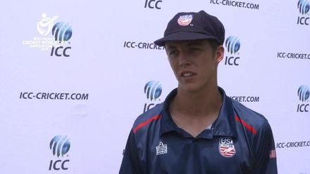 U19 CWC Americas Q: USA v Bermuda - Interview with USA captain after win