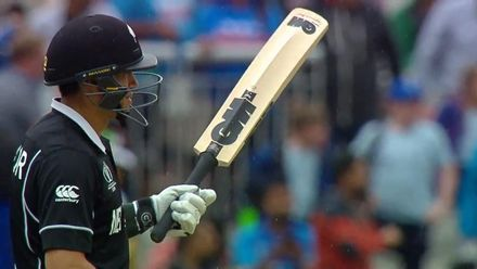 CWC19 SF: IND v NZ – Highlights of Ross Taylor's 90-ball 74