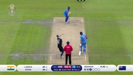 CWC19 SF: IND v NZ – Highlights of Jadeja's 59-ball 77